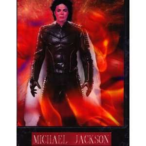 Michael Jackson 12x10 Plaque with Engraving.