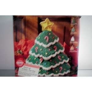 Wilton Standing Christmas Tree Cake Pan Complete with Directions in