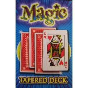 Tapered Card Deck Magic Trick Playing Cards  Sports