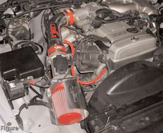 Injen Short Ram Intake 93.5 95 Supra NA Heat Shield