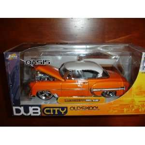 DUB CITY OLDSKOOL 1953 Chevy Bel Air 1/24 Scale Wheels by