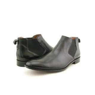 John Varvatos Chelsea Boots Casual Shoes Black Mens Shoes