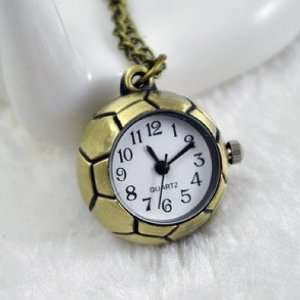 Pocket Watch Necklace Pendant Sweater Chain Cool