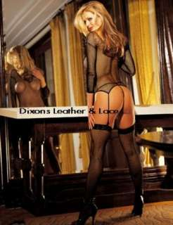 SEXY FISHNET FANTASY STRETCH FISHNET and LACE 3 PC SET