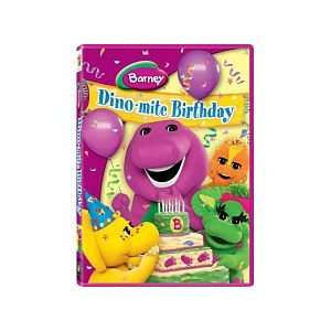 BARNEY DINO MITE BIRTHDAY DVD Toys & Games