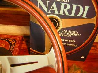 Rolls Royce Corniche Wood Steering Wheel NARDI NEW