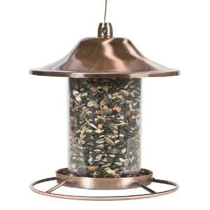 Perky Pet 312C Panorama Bird Feeder, Copper Patio, Lawn
