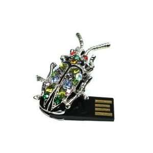8GB Insect Jewelry Shaped USB Flash Drive Electronics