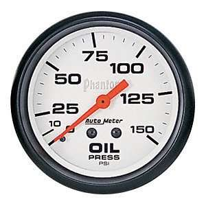 Auto Meter 5823 Phantom Mechanical Oil Pressure Gauge
