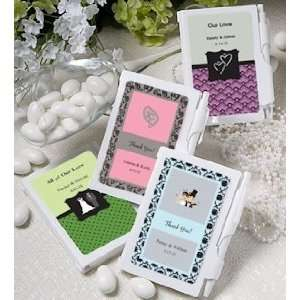 Personalized Notebook Favors (Over 200 Designs) Health
