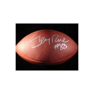 Jerry Rice Autographed Ball   Autographed Footballs