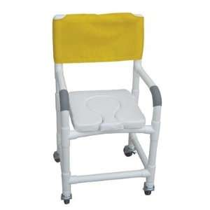Standard Deluxe Shower Chair with Dual Use Soft Seat and