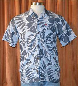 QUIKSILVER GRAY CASUAL HAWAIIAN SHIRT YOUTH BOYS XL