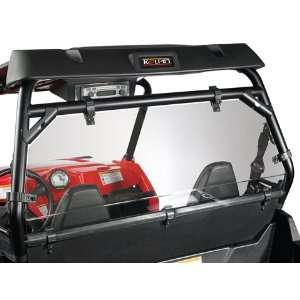 Polaris Ranger RZR Rear Windshield/Back Panel Combo by
