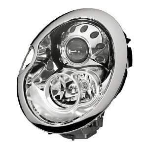 HELLA 010068031 Mini Cooper Driver Side Headlight Assembly