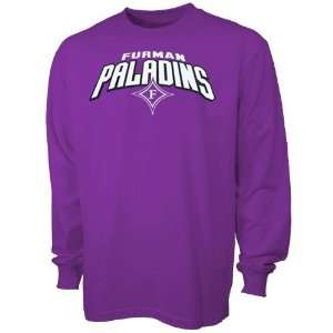 Furman Paladins Purple Big Time Long Sleeve T shirt
