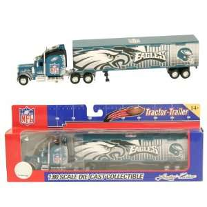 Philadelphia Eagles 180 Scale Diecast Tractor Trailer