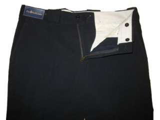 POLO RALPH LAUREN MENS NAVY WNTR SPORT FLAT DRESS / CASUAL PANTS