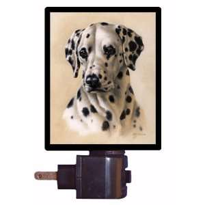 Night Light   Dalmatian Portrait   LED NIGHT LIGHT
