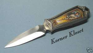 FRANKLIN MINT KING ARTHUR COLLECTORS EDITION KNIFE