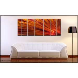 Abstract Metal Wall Art Painting Sculpture Decor