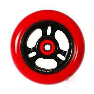 Phoenix 3 Spoke Wheel Red Black 110mm