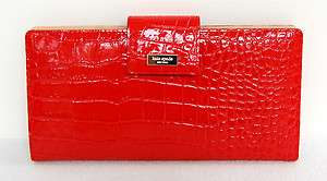 Kate Spade Knightsbridge Patent Leather Travel Wallet Coin Purse $245