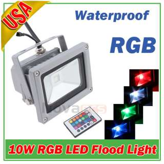 20W Cool White High Power LED Flood Wash Light Lamp Outdoor Waterproof