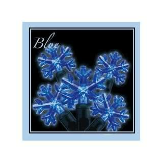 Kimball Lighting 52411 Snowflakes   35 Light Blue   Case