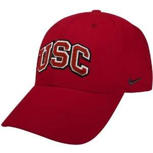 Nike South Carolina Gamecocks Garnet Tackle Twill Swoosh Flex Fit Hat