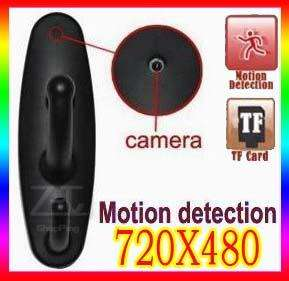 New Motion Detection Clothes Hook Camera Hidden DVR Video 30FPS Black