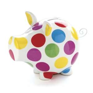 Salt&Pepper OINK POLKA DOT MONEY BOX