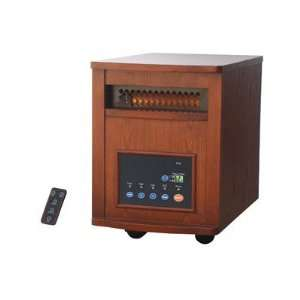 Lifesmart LSPP1500 6HOM 1500 Watt Infrared Quartz Heater 6