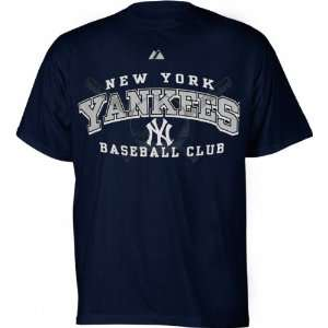 New York Yankees Navy Monster Play Youth T Shirt Sports