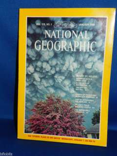 National Geographic Magazine January 1981 Vol 159 No #1