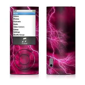 Apocalypse Pink Design Decal Sticker for Apple iPod Nano