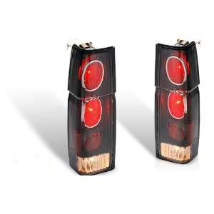 86 97 Nissan Hardbody Altezza Tail Light   Black / Smoke