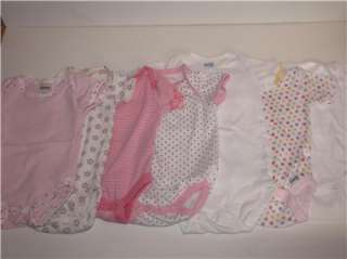 105 piece lot Baby Girl Clothes Carters Gerber Old Navy 0 6 months