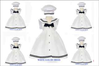 NEW INFANT GIRL NAVY NAUTICAL TODDLER SAILOR DRESS SET