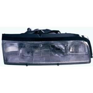 Mazda MX6 Replacement Headlight Assembly   Passenger Side