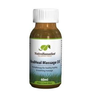 RealHeal Massage Oil for Relieving Pain and Promoting