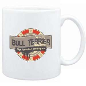Mug White  Bull Terrier THE INVASION CONTINUES  Dogs