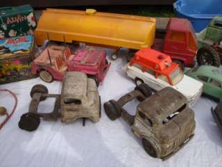 Toys Pressed Steel Trucks Structo Tonka Fisher Price Lunchboxes