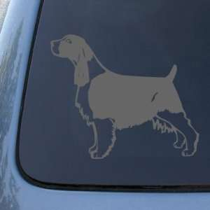 ENGLISH SPRINGER   Dog   Vinyl Car Decal Sticker #1512  Vinyl Color