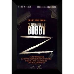 Death and Life of Bobby Z 27x40 FRAMED Movie Poster