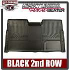19841 Husky Liners Black weatherBEATER 2nd Floor Mats Toyota Sienna