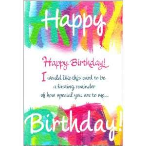 Blue Mountain Arts Birthday Greeting Card Lasting Reminder
