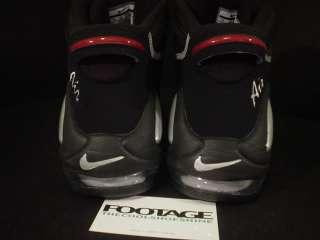 2010 Nike Air Max TEMPO UPTEMPO 97 BLACK SILVER RED 11
