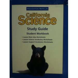 Science Study Guide Consumable Level 4 Houghton Mifflin
