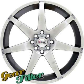 XXR 786 18x7.5 4x100 +42 Hyper Black Wheel/Rim xA xB Yaris Civic Miata